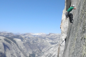 Oh Thank God Ledge, Half Dome